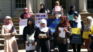 Press Conference with Muslim Community Network's Youth Leadership Program
